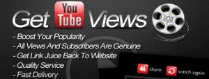 Increase YouTube views and reviews