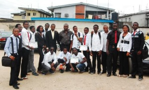 Web Design Students @ RCCG Redemption House, Aguda, July 2011