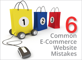 6 common e-commerce websites mistakes