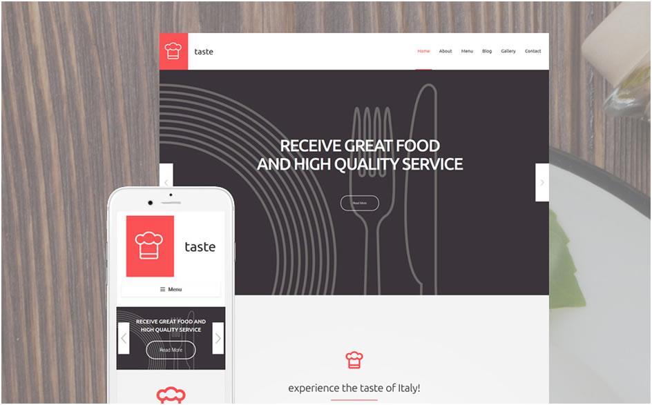 Taste WordPress Theme
