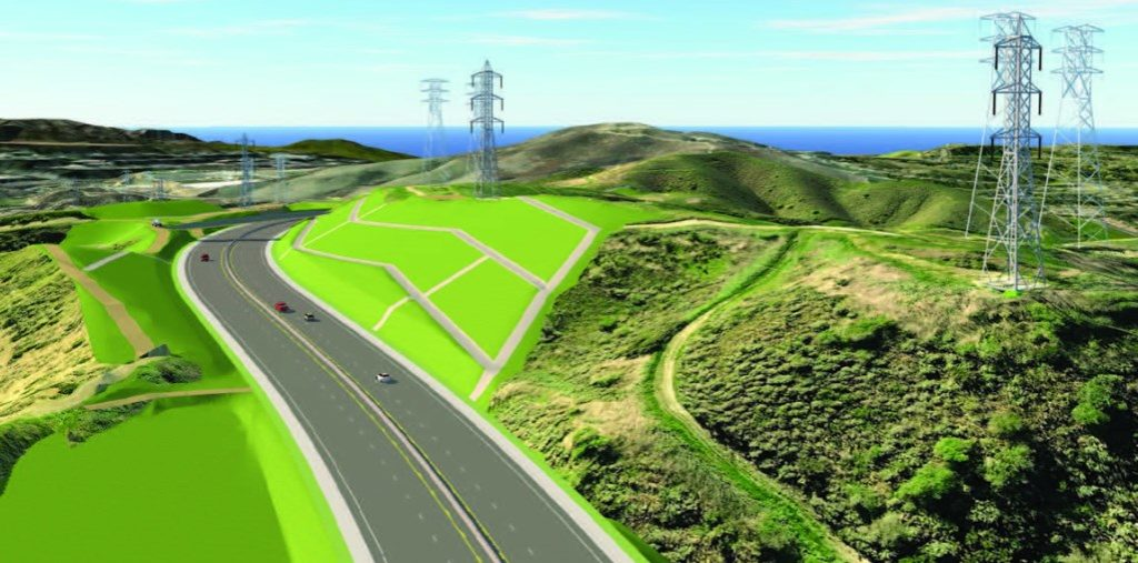 3D Image - Road