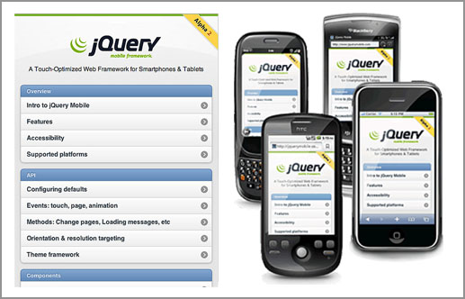 Hasil gambar untuk jQuery Mobile