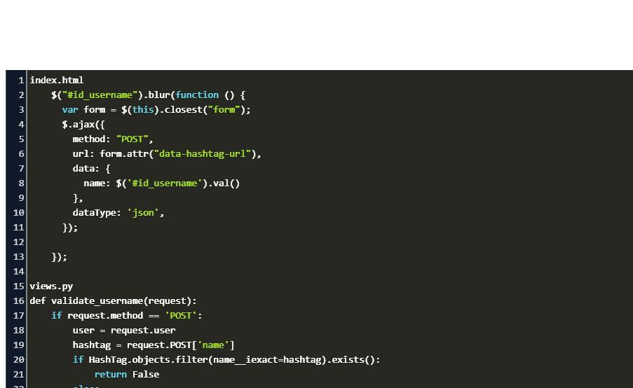 ajax with django Code Example
