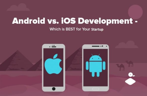 difference developing for android vs ios