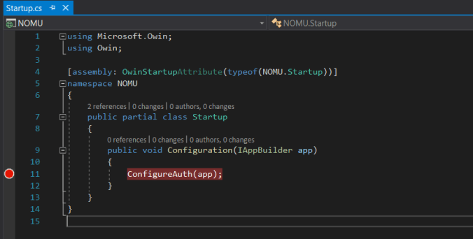 How to start working with an unknown codebase: breakpoinit in Visual Studio