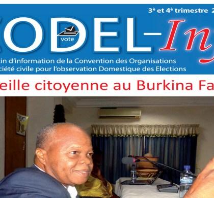 Bulletin CODEL Info N°: 00 du 3e et 4e trimestre 2017