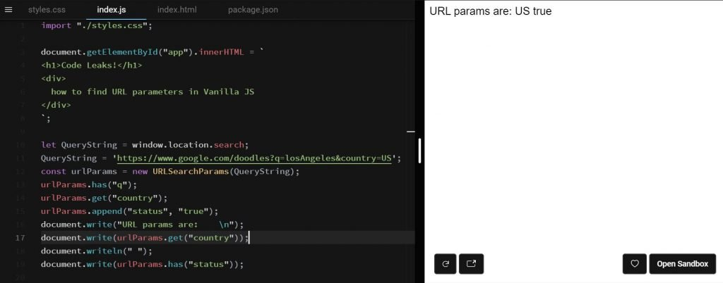 You can get the hash value from the url quickly by just running. 33 Javascript Parse Url Parameters - Modern Javascript Blog
