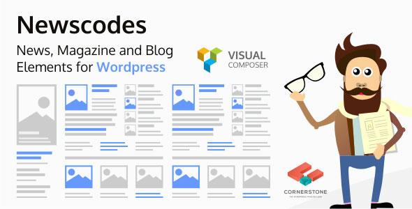 Newscodes v2.3.0 – News, Magazine and Blog Elements for WordPress