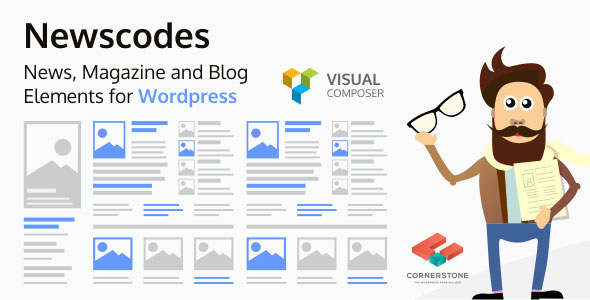 Newscodes v2.3.1 – News, Magazine and Blog Elements for WordPress