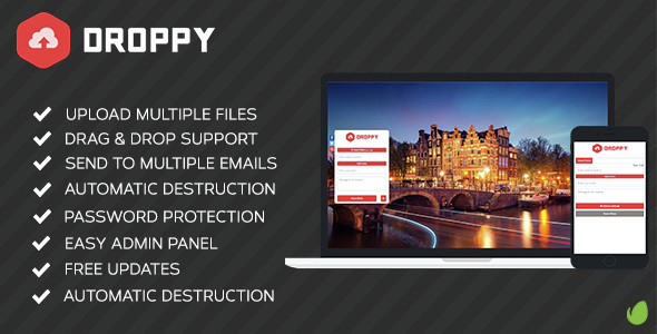 Droppy v2.0.9 – Online file sharing – nulled