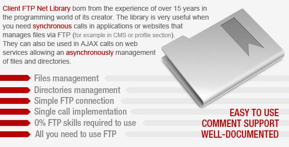 Client FTP Net Library