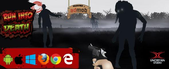 Run Into Death - HTML5 Shooter Game