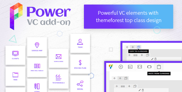 Power VC Add-on v1.0.3 - Powerful Elements for Visual Composer