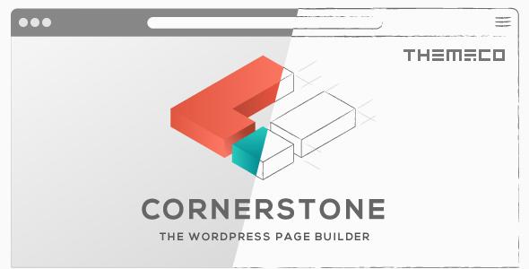Cornerstone v3.3.8 – The WordPress Page Builder