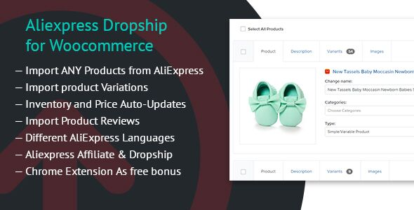 Aliexpress Dropship for Woocommerce v1.0