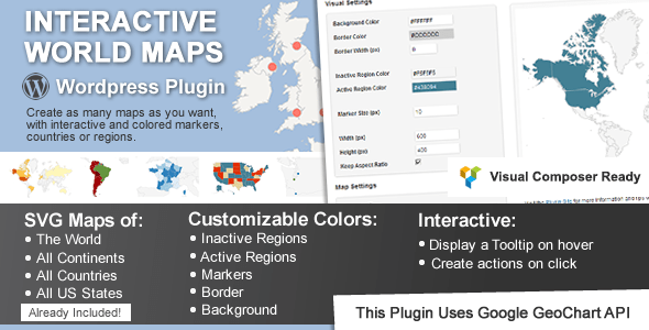 Interactive World Maps v2.2.5