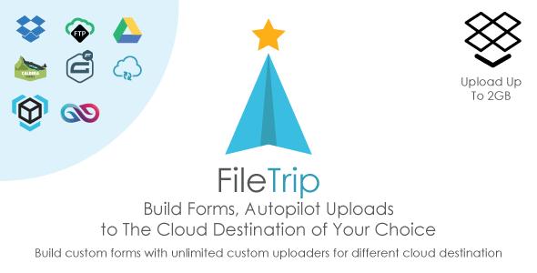 Filetrip v2.0.7 - Easily upload to Dropbox + Google Drive + FTP + WordPress