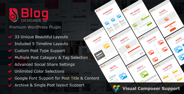 Blog Designer PRO for WordPress v2.7.7