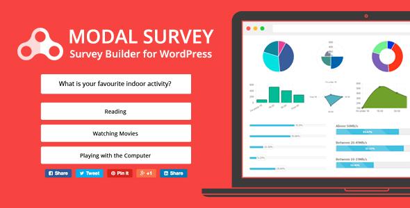 Modal Survey v1.9.9.4 - WordPress Poll, Survey & Quiz Plugin