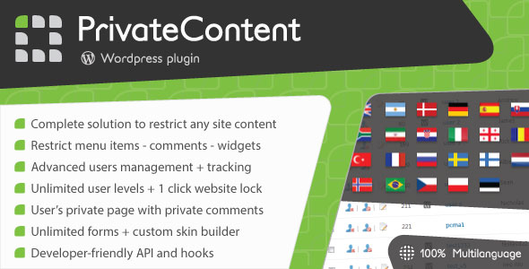 PrivateContent v6.042 - Multilevel Content Plugin