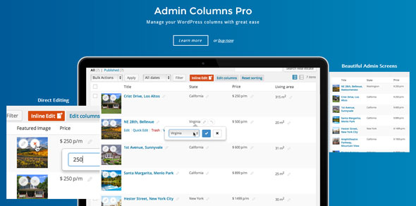 Admin Columns Pro v4.6.3 - WP Columns Manager