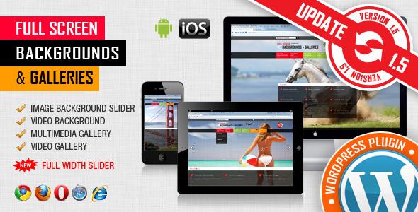 Image & Video FullScreen Background Plugin v1.5.3.4