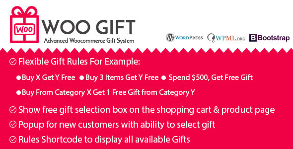 Woo Gift v5.0 – Advanced Woocommerce Gift Plugin
