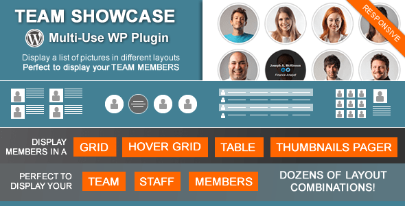 Team Showcase v2.1.8 – Codecanyon WordPress Plugin
