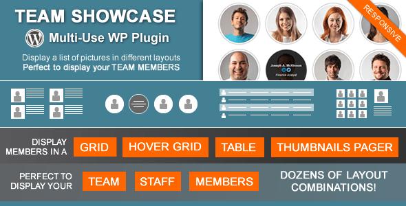 Team Showcase v2.0.3 - Codecanyon WordPress Plugin