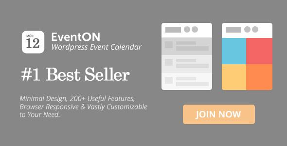 EventOn v2.6.12 - WordPress Event Calendar Plugin