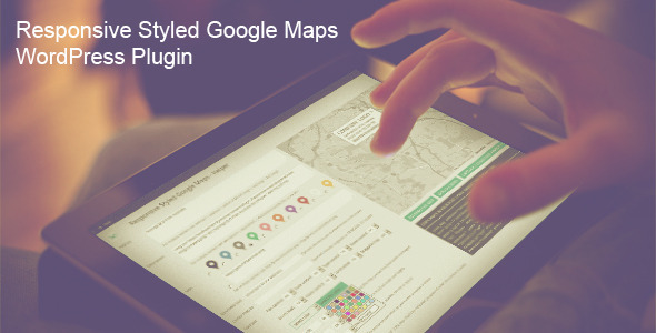 Responsive Styled Google Maps v4.5 – WordPress Plugin