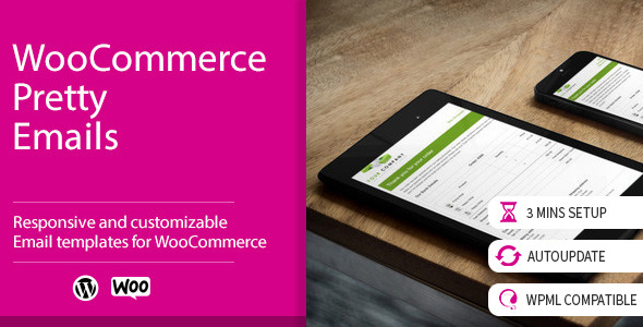 WooCommerce Pretty Emails v1.8.6