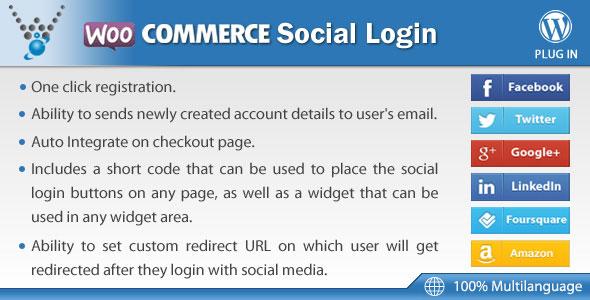 WooCommerce Social Login v1.5.4