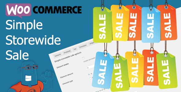 WooCommerce Simple Storewide Sale v1.1.4