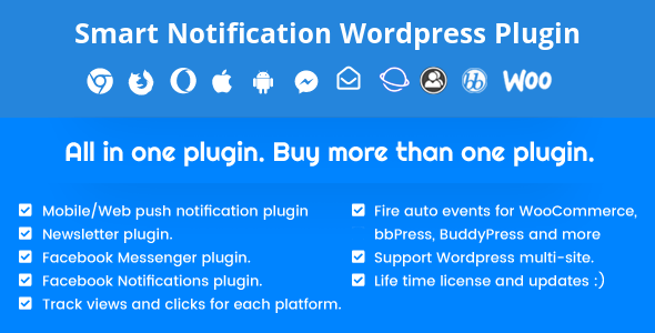 Smart Notification WordPress Plugin v9.2.7.1