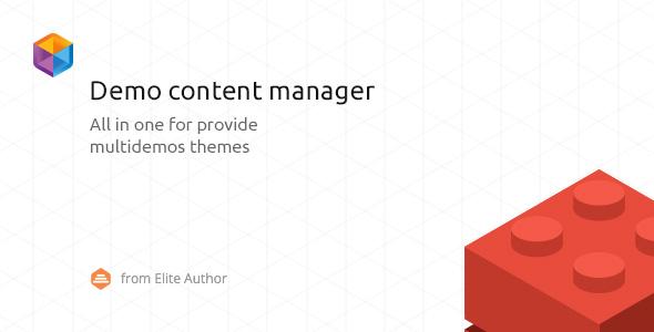 WordPress Demo Content Manager v2.0.5