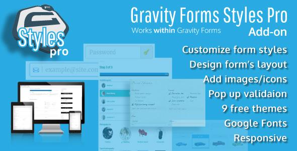 Gravity Forms Styles Pro Add-on v2.4.5