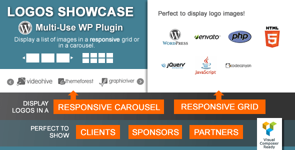Logos Showcase v2.0.4 – Multi-Use Responsive WP Plugin