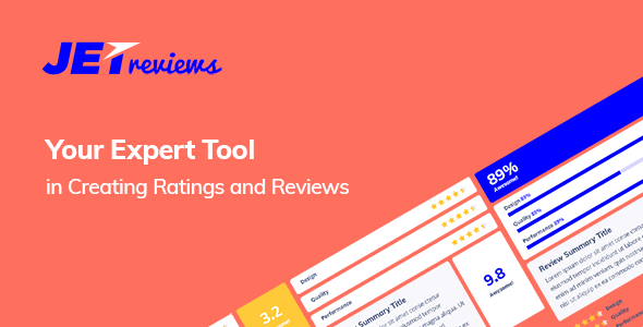 JetReviews v1.2.2 – Reviews Widget for Elementor Page Builder