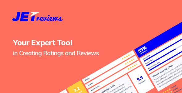 JetReviews v1.1.0 - Reviews Widget for Elementor Page Builder