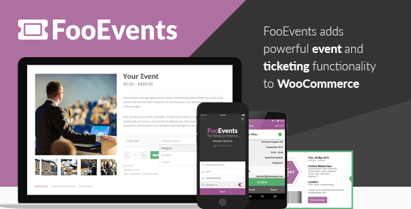 FooEvents for WooCommerce v1.7.22