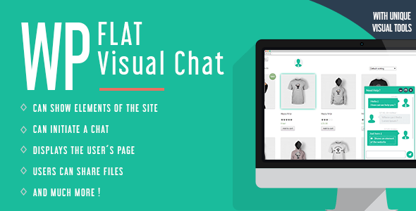 WP Flat Visual Chat v5.383