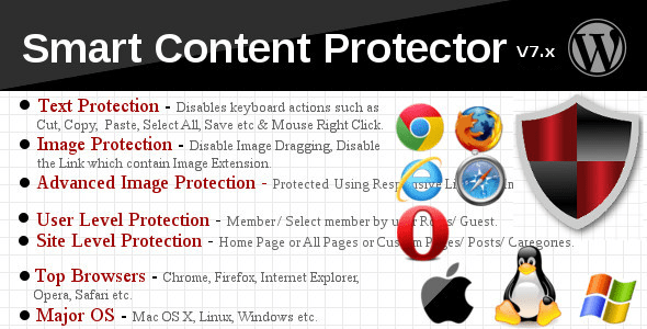 Smart Content Protector v8.0 – Pro WP Copy Protection