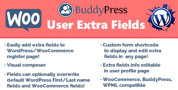 User Extra Fields v15.1