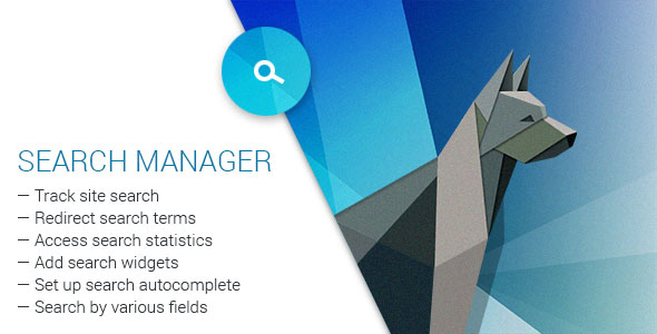 Search Manager v4.0.1 - Plugin for WooCommerce and WordPress
