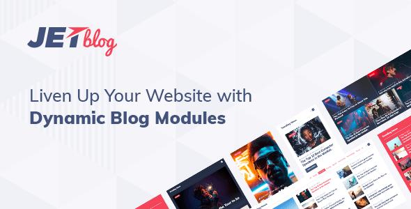JetBlog v2.2.1 - Blogging Package for Elementor Page Builder