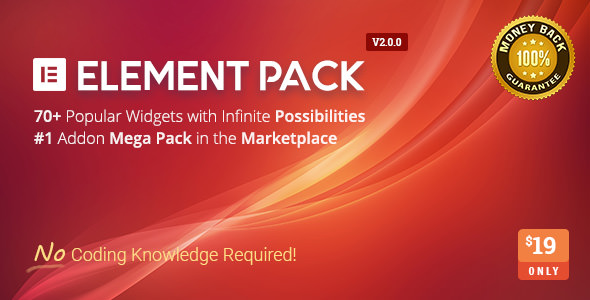Element Pack v2.0.0 - Addon for Elementor Page Builder