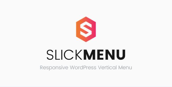 Slick Menu v1.1.2 - Responsive WordPress Vertical Menu