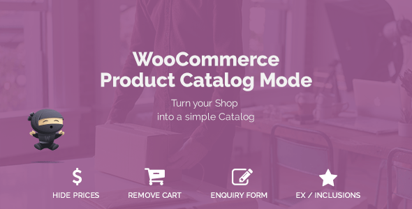 WooCommerce Product Catalog Mode v1.5.1