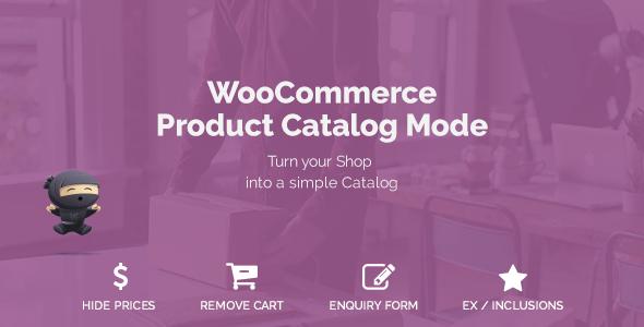WooCommerce Product Catalog Mode v1.5.1